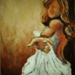 Danya, Acrylic, 27x42