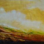"Prairie Summer, Acrylic, 36x54"""